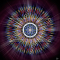 Sacred Geometry 317 by Endre Balogh