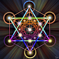 Sacred Geometry 5 by Endre Balogh
