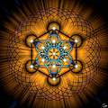 Sacred Geometry 68 by Endre Balogh
