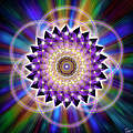 Sacred Geometry 74 by Endre Balogh