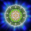 Sacred Geometry 75 by Endre Balogh