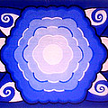 Sacred Geometry Mandala by Jean Sarmiento