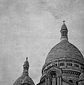 Sacred Heart Basilica Of Montmartre  by Maria Angelica Maira