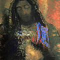 Sacred Heart by Odilon Redon