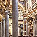 Sacred Heart Of Jesus Church Rome Italy by Sophie McAulay