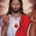 Sacred Heart Of Jesus by Terry Sita