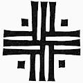 Sacred Roman Cross by Granger