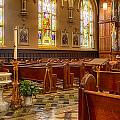 Sacred Space - Our Lady Of Mt. Carmel Church by Lindley Johnson