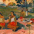 Sacred Spring. Sweet Dreams by Paul Gauguin