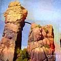 Sacred Stones Germany by Lutz Baar