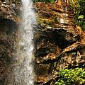 Sacred Waterfall Of Tropical Forest by Sylvie Bouchard