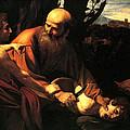Sacrifice Of Issac by Caravaggio