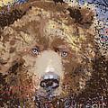 Sad Brown Bear by Kim Prowse