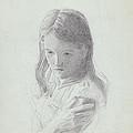 Sad Girl by Robert Tracy