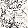 Sad Little Girl by Rachel Christine Nowicki