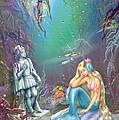 Sad Little Mermaid by Zorina Baldescu