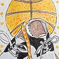 Saddle Oxfords And Basketball by Kathy Marrs Chandler
