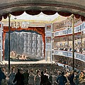 Sadlers Wells, From Ackermanns by T. & Pugin, A.C. Rowlandson