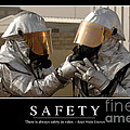 Safety Inspirational Quote by Stocktrek Images
