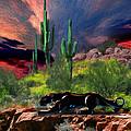 Saguaro Jaguaro by Timothy Ramos