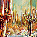Saguaro National Forest by Victoria Wills