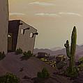 Saguaro Sunset by Brenda Salamone