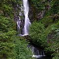 Sahale Falls In Oregon by Jackie Follett
