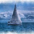 Sail Boat Photo Art 01 by Thomas Woolworth
