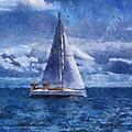 Sail Boat Photo Art 02 by Thomas Woolworth