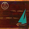 Sail Sail Sail Away - J173131140v3c4b by Variance Collections