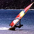 Sailboarder by Robert  Rodvik