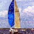 Sailboat by Kathleen Struckle