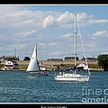 Sailboat On Lake Ontario Near Old Fort Niagara 2 by Rose Santuci-Sofranko