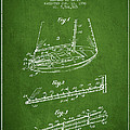 Sailboat Patent From 1996 - Green by Aged Pixel