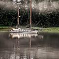 Sailboat Reflection by Robert Bales