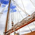 Sailboat Rigging by Alexey Stiop