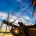 Sailboat Sunrise by Robert Bynum