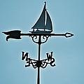Sailboat Weathervane by Tara Potts