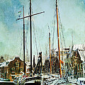 Sailboats by Annie Snel