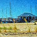 Sailboats Boat Harbor - Quiet Day At The Harbor by Rebecca Korpita