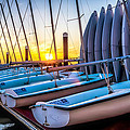 Sailboats by Curtis Cabana