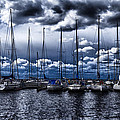 Sailboats by Stelios Kleanthous