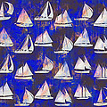 Sailboats by Vicki Podesta