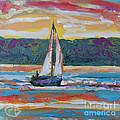 Sailing Along by Kip Decker