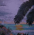 Sailing Along The Shore by David Earl Tucker