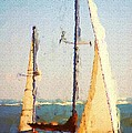 Sailing At Daytona by David Lane