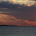 Sailing At Sunset  by Debra Forand