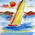 Sailing Away by Roberto Gagliardi