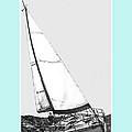 Sailing Freedom On A Reach by Jack Pumphrey