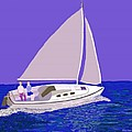 Sailing Blue Ocean by Fred Jinkins